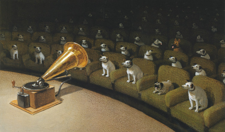 Michael Sowa. Concierto de gramófono para perros